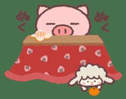 Butata in Winter sticker #1333121
