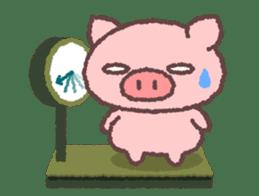 Butata in Winter sticker #1333128