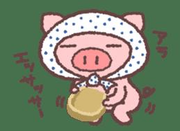 Butata in Winter sticker #1333130
