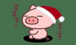 Butata in Winter sticker #1333136