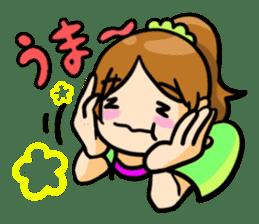 Fine girl sticker #1333806