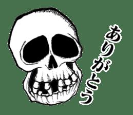 The skull sticker sticker #1334312