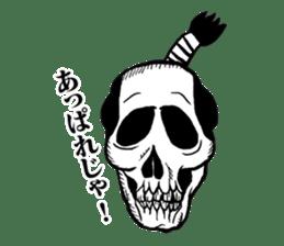 The skull sticker sticker #1334320
