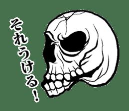 The skull sticker sticker #1334325
