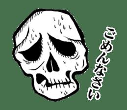 The skull sticker sticker #1334331