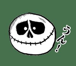 The skull sticker sticker #1334335