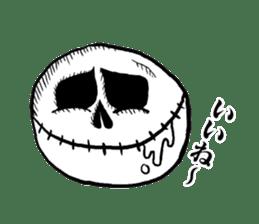 The skull sticker sticker #1334336