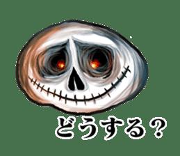 The skull sticker sticker #1334342