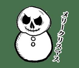 The skull sticker sticker #1334344