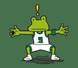 frog baller sticker #1335669