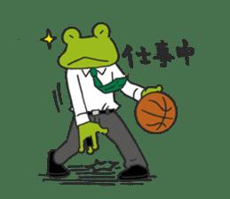 frog baller sticker #1335671