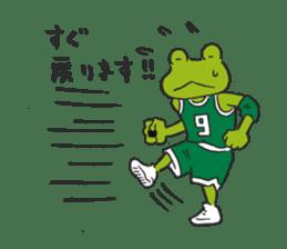 frog baller sticker #1335686