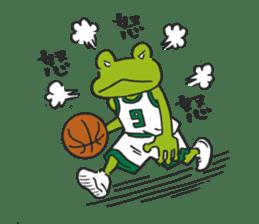 frog baller sticker #1335695