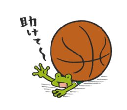 frog baller sticker #1335696