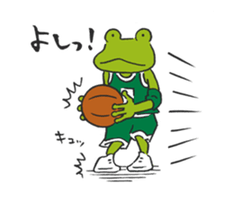 frog baller sticker #1335698