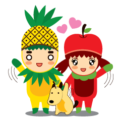 Pine+Apple & Mango (Love is beautiful)