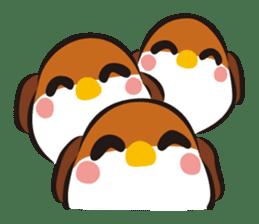 Three Sparrows ( overaction ver. ) sticker #1336426
