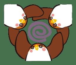 Three Sparrows ( overaction ver. ) sticker #1336431