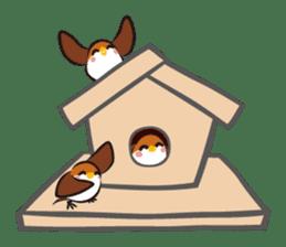 Three Sparrows ( overaction ver. ) sticker #1336437