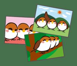 Three Sparrows ( overaction ver. ) sticker #1336445