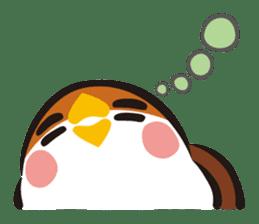 Three Sparrows ( overaction ver. ) sticker #1336450