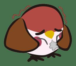 Three Sparrows ( overaction ver. ) sticker #1336452