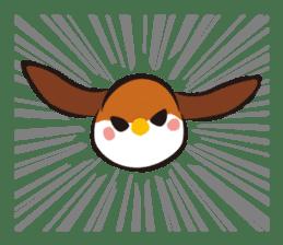 Three Sparrows ( overaction ver. ) sticker #1336454