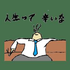 Bibulous salaryman Nomo sticker #1340602