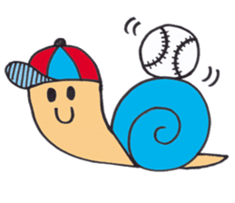 happy snail sticker #1340717