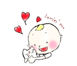Cute boy~SAM~ sticker #1341975