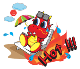 Gon Man - Funny Dragon Special Stickers sticker #1342389