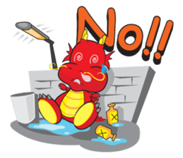 Gon Man - Funny Dragon Special Stickers sticker #1342390