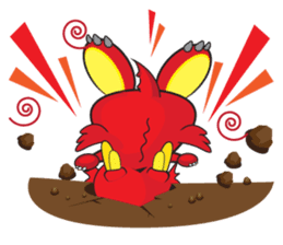 Gon Man - Funny Dragon Special Stickers sticker #1342393