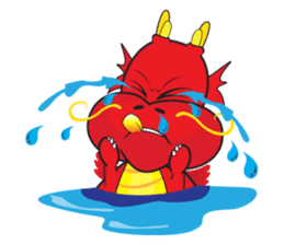 Gon Man - Funny Dragon Special Stickers sticker #1342395