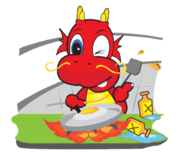 Gon Man - Funny Dragon Special Stickers sticker #1342404
