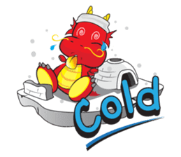 Gon Man - Funny Dragon Special Stickers sticker #1342405