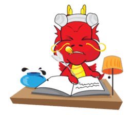 Gon Man - Funny Dragon Special Stickers sticker #1342411