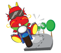 Gon Man - Funny Dragon Special Stickers sticker #1342419
