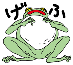 Daily life of the frog sticker #1342598