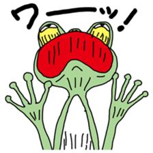 Daily life of the frog sticker #1342604