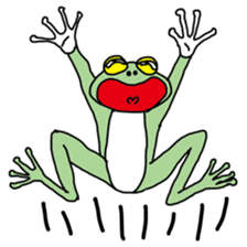 Daily life of the frog sticker #1342623