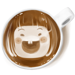 I Love Coffee (Latte Art)