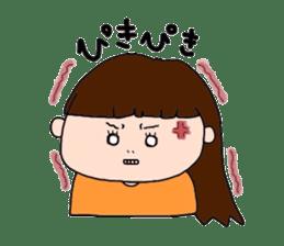 pattsun-girl sticker #1344230