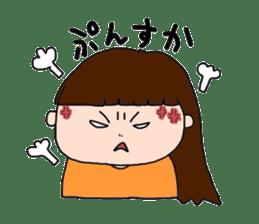 pattsun-girl sticker #1344231