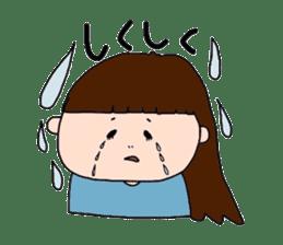 pattsun-girl sticker #1344232