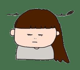 pattsun-girl sticker #1344236
