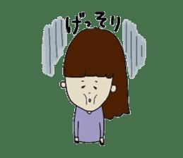 pattsun-girl sticker #1344237