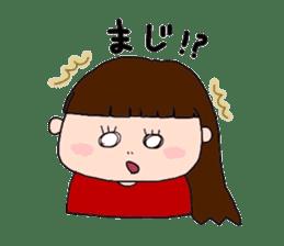 pattsun-girl sticker #1344238