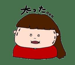 pattsun-girl sticker #1344239