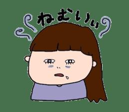 pattsun-girl sticker #1344241